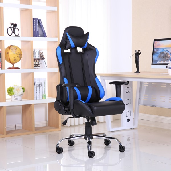 Gaming Chairs Luxury Reclining Leather Sports Racing