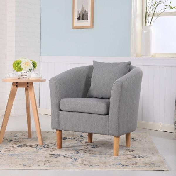 Fabric Tub Chairs York Fabric Tub Chair Armchair Light