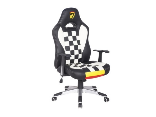 F1 Formula 1 Leather Gaming Sports Racing Office Computer Chair