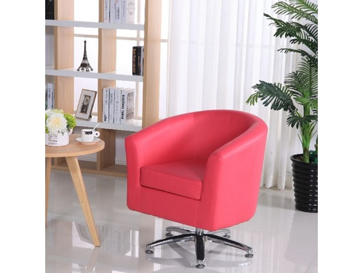 Camden Leather Swivel Tub Chair Armchair Pink  sc 1 st  Chairs Warehouse & Leather Tub Chairs Camden Leather Swivel Tub Chair Armchair Pink ...