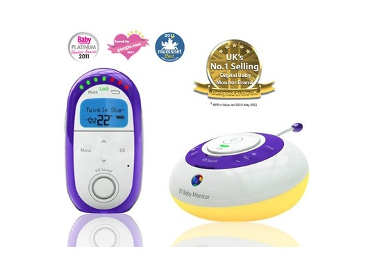 BT Digital Baby Monitor 250 With High Definition Sound